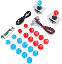 $42 » USB Game Set, Can Be Connected to Button Lights Fighting Game Accessory Professional Made for Silky Arcade Experience(Doub...