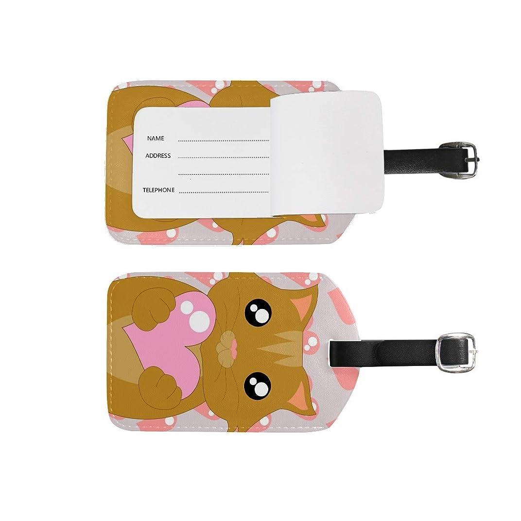 たくさんの注意鮫ネームタグ 荷物タグ こころ 猫 かわいい 荷札 出張 旅行 1枚入り スーツケース 名入れ キャラクター 紛失防止 目印 安全 便利 レザー 耐久性 個性的 防水 機能 人気