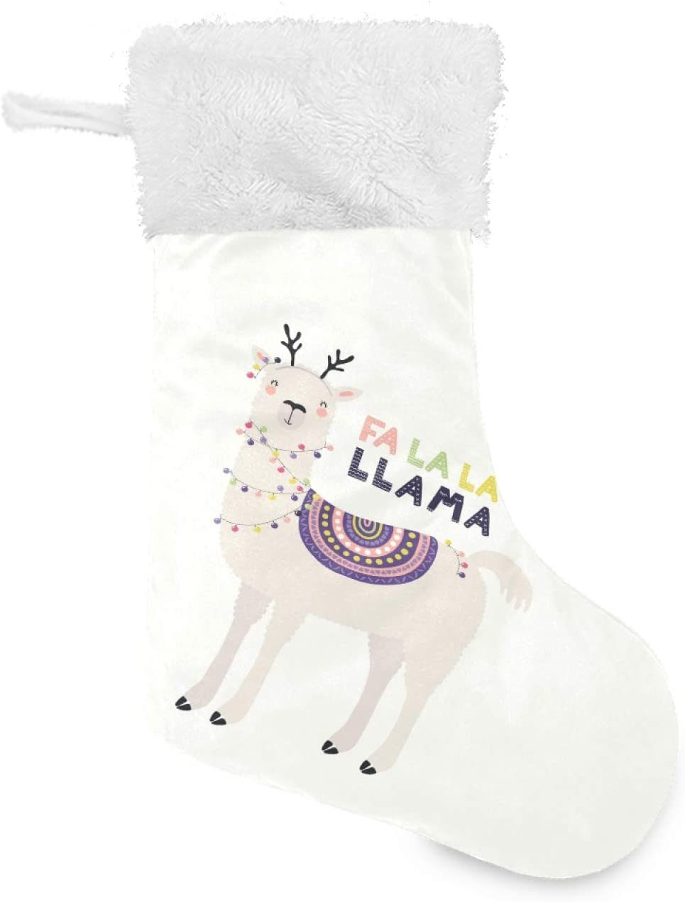 Popular brand in the world Cute Funny Llama Year-end annual account Deer Christmas f Antlers Stockings