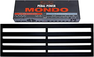Pedaltrain TERRA Pedalboard 5 Rails 42x14.5 w/Soft Case and Voodoo Lab Pedal Power MONDO Isolated Power Supply
