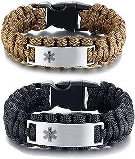 Best metal tags for paracord bracelets Reviews