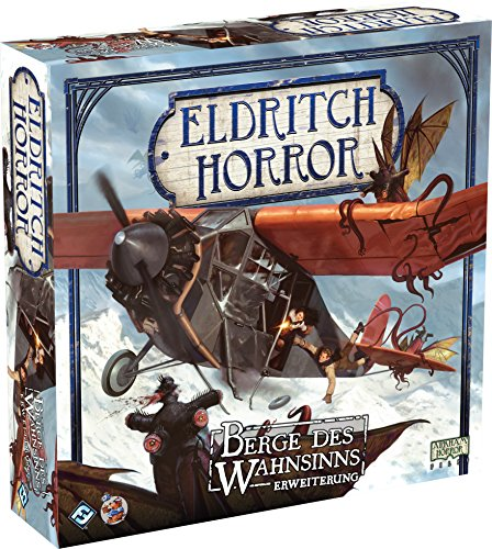 Asmodee  HE765 - Eldritch Horror Berge des Wahnsinns - Erweiterung