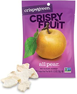 Best Crispy Green Freeze-Dried Fruit, Single-Serve, Pear, 0.35 Ounce (Pack of 12) Review