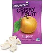 Crispy Green Freeze-Dried Fruit, Single-Serve, Pear, 0.35 Ounce (Pack of 12) | Non-GMO |Gluten Free |No Sugar Added