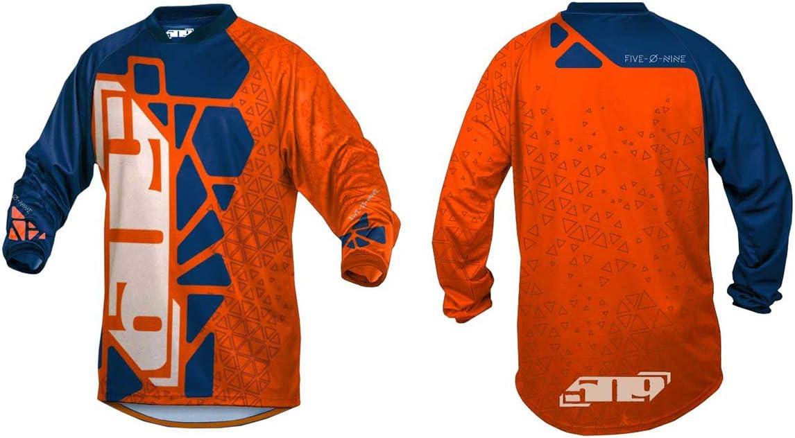 509 Ridge Jersey Orange//Navy Hextant - X-Large