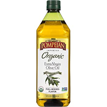 Pompeian Organic Extra Virgin Olive Oil - 32 Ounce