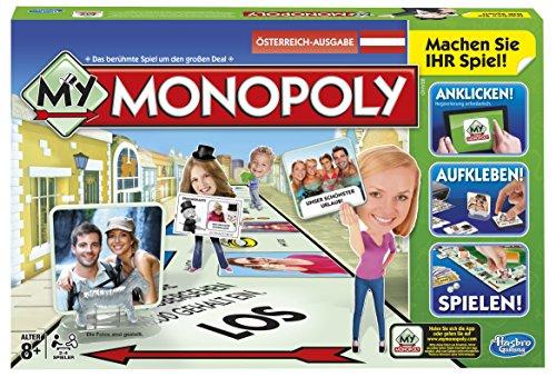 Hasbro A8595156 - My Monopoly, Familien-Brettspiel, österreichische Version