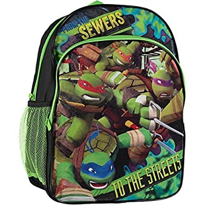 Nickelodeon Little Boys' TMNT To the Streets Backpack