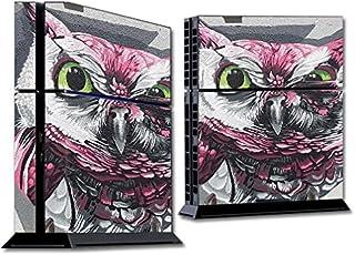 MightySkins - Skin para Sony PS4 Console, diseño de Tigre Blanco, Protector, Duradero y único, fácil de aplicar, Quitar y ...
