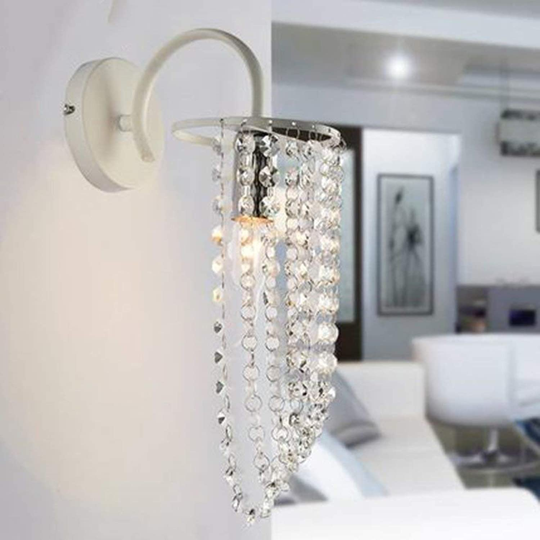 Neueste Kollektion Von Wandleuchte Kristall Wandleuchte Einfache Und Kreative Warmen Schlafzimmer Nachtwandleuchte Kristall Lichter 1 Stücke Lampen & Schirme