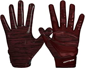 Cutters Gloves Rev Pro 3.0 Receiver Phantom Gloves, Maroon Camo, Large
