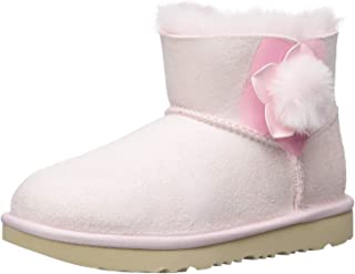 UGG Kids' K Mini Bailey Ii Cactus Flower Fashion Boot