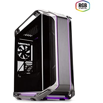 Cooler Master Cosmos C700M E-ATX Full-Tower with Curved Tempered Glass Panel, Riser Cable, Flexible Interior Layout, Diverse Liquid Cooling Layout, Type-C Port & ARGB Lighting Control