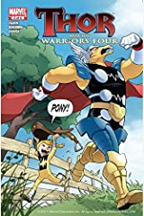 Thor and the Warriors Four #2 (of 4) (English Edition) Format Kindle