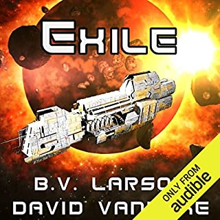 Exile     Star Force, Book 11              Written by:                                                                                                                                 B.V. Larson,                                                                                        David VanDyke                               Narrated by:                                                                                                                                 Mark Boyett                      Length: 12 hrs and 54 mins     2 ratings     Overall 5.0