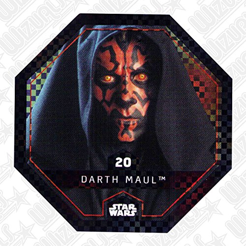 WIZUALS Rewe Star Wars Cosmic Shells 20 Glitzer Darth Maul Sticker