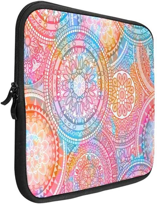 INTERESTPRINT Laptop Case Bag Sleeve Hibiscus Hawaiian Flower Laptop Protection Cover 15.4 Inch 15.6 Inch