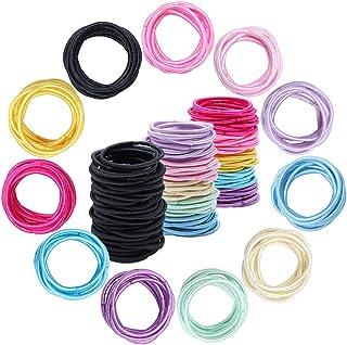 300 Stuks Baby Kleine Haarbanden, Veelkleurige Elastieken Haarbanden voor Kinderen Meisjes Zuigelingen Peuters Paardenstaa...