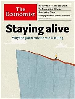 The Economist Magazine (November 24, 2018) Staying Alive Cover
