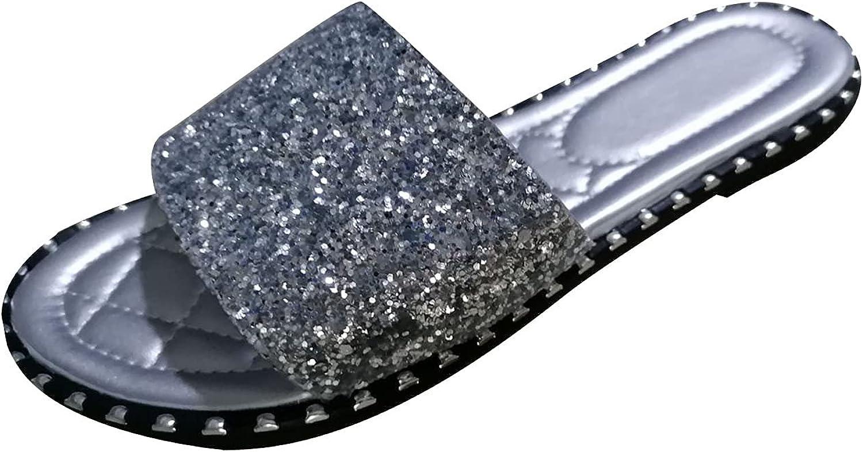 Summer Sandals Women Sale item Our shop most popular Platform Crystal Big Slippers Women's Size