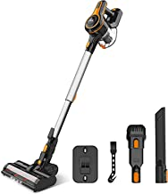 Cordless Vacuum Cleaner 23Kpa Strong Suction, Stick Vacuum with 45min Max Long Runtime Detachable Battery, Extra Large Dus...
