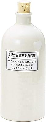 マルタ陶喜(Marutatouki) 冷水筒 白 720ml ラジューム 短