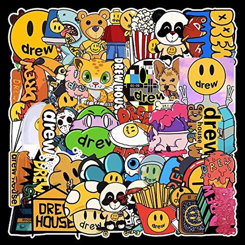 DUOYOU Singer Justin Bieber Drewhouse Sticker Pack Per Pc Valigia Computer Portatile Moto...