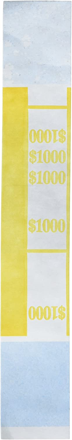 Pm Company Currency Bands 1000 00 Pack Of 1000 Money Bands Office Products