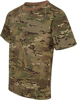 Taktisch Armee T-Shirt Tarnshirt Tarnmuster Kurzarm Rundhals Herrenshirt M-3XL