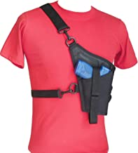 Compact Tanker Style Cross Body Holster for 3