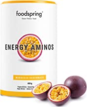 foodspring Energy Aminos 400g Passion Fruit Cleaner pre-Workout Booster Gluten- and Lactose-Free 100 Vegan Made in Germany Estimated Price : £ 29,99