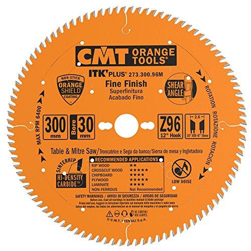 CMT 273.300.96M Lama Circolare Itk-Plus per Taglio di Precisione, Arancio