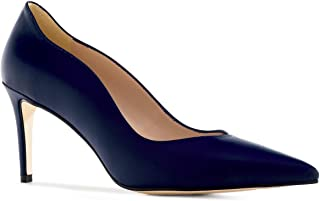 Andres Machado - Escarpins élégantes pour Femme/Fille - Cloe - Chaussures Hautes à Talons Hauts en Cuir - Talons Aiguille...