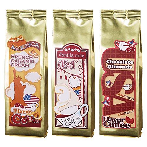 [賞味9/30] アメリカお土産 | フレーバーコーヒー 3種セット【202046】