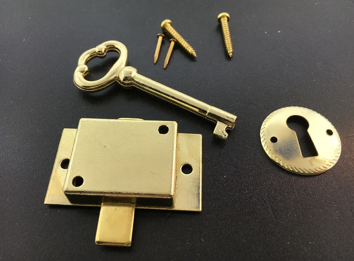 New Clock Door Max 66% OFF Lock Key Under blast sales Set 1