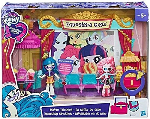Hasbro My Little Pony C0409EU4 - Equestria Girls Minis Movie Theater Playset, Spielset