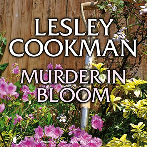 Murder in Bloom audiobook cover art