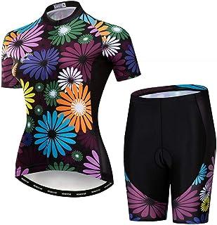 Cycling Jersey Set for Women Mountain Bike 3D Gel Pad Shorts Wear