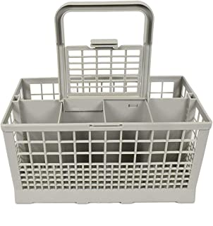 Greatangle Universel carré léger Portable boîte de Rangement pour Lave-Vaisselle Lave-Vaisselle Panier à Couverts européen...