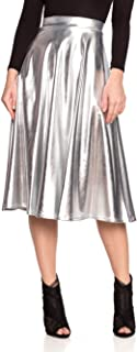Women's J2 Love Faux Leather Flare Skirt
