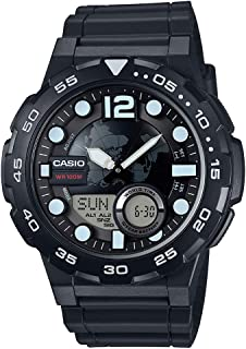 Casio Casual Watch Analog Display for Men AEQ-100W-1AVDF
