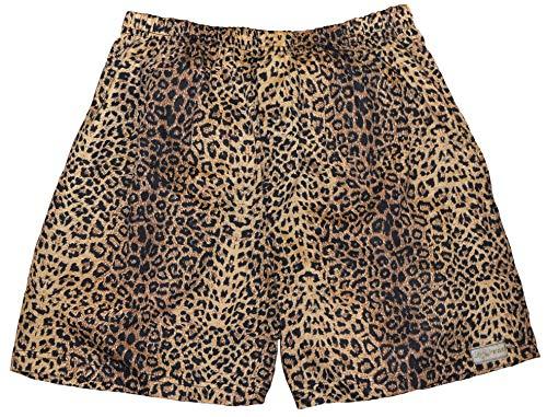 Tag Safari Leopard Print Boxer Shorts for Men-2X Large