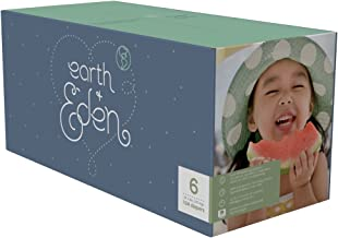 Earth + Eden Baby Diapers, Size 6, 104 Count