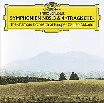 "Schubert: Symphonies Nos.3 & 4 ""Tragic"""