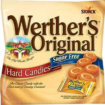 Werther s Original Sugar Free Caramel Hard Candies 12 pack