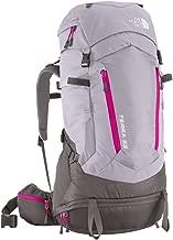 The North Face Women's Terra 55 Exploration Pack Dapple Grey/Fuchsia Pink Medium/Large