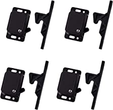 4 Pack Cabinet Door Latch/RV Drawer Latch Holder, 8 LB Pull Force Latch for Home/Office/Cabinet Doors, Push Catch Latch fo...