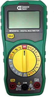 Commercial Electric Manual Ranging Digital Multi-Meter