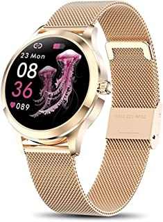 Smart Watch for Women, Yocuby Novel/Stylish/Beautiful Smartwatch Bluetooth Fitness Tracker for Ladies with IP68 Waterproof, Female Period Tool, Heart Rate Sleep Monitor Calorie Counter