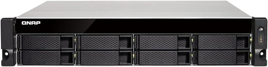 QNAP TS-863XU-4G-US 2U 8-Bay AMD 64bit x86-based NAS and iSCSI/IP-SAN, Quad Core 2.0GHz, 4GB RAM, 4 x 1GbE, 1 x 10GbE (10G...
